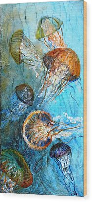 Diaphonouse Jellies-sold Wood Print