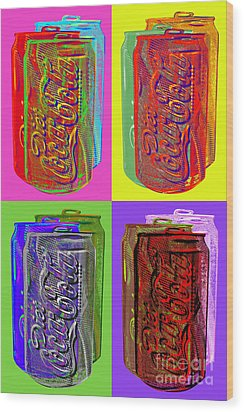 Diet Coke - Coca Cola Wood Print