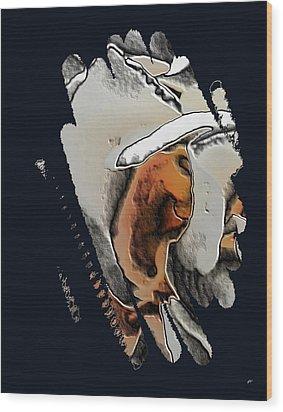 Digital Art - Abstract 150 Wood Print by Gerlinde Keating - Galleria GK Keating Associates Inc