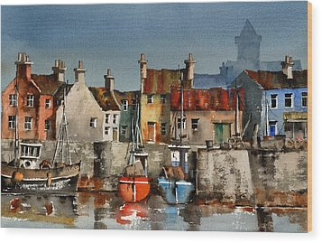 Dingle Harbour  Kerry Wood Print