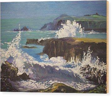 Dingle  - Kerry- Ireland Wood Print by Paul Weerasekera
