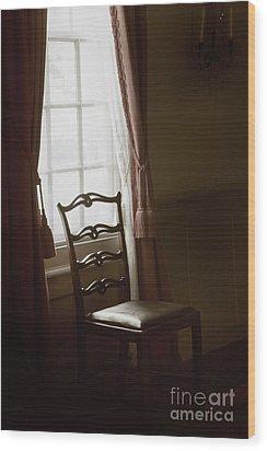Dining Room Window Wood Print by Margie Hurwich