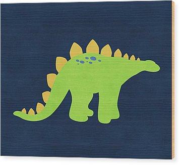 Dino 222 Wood Print by Tamara Robinson