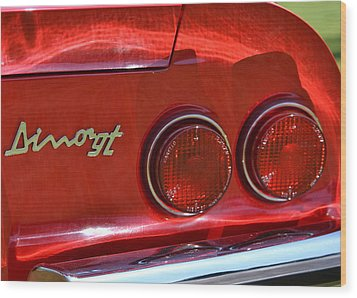 Wood Print featuring the photograph Dino Gt by Dean Ferreira