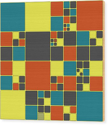 Dio - 561 -01a Wood Print by Variance Collections