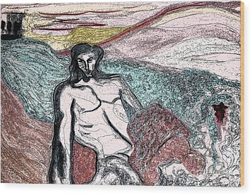 Dionysus By Jrr Wood Print by First Star Art