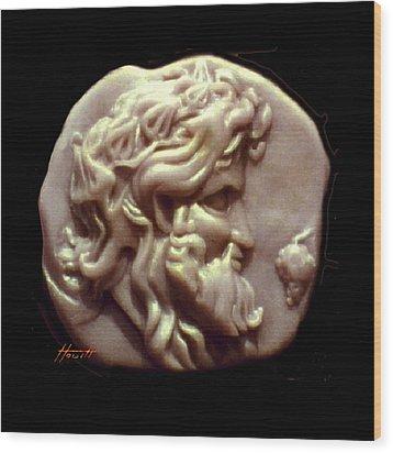 Dionysus Wood Print by Patricia Howitt