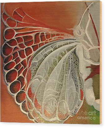 Diptique Butterflies In Work Wood Print