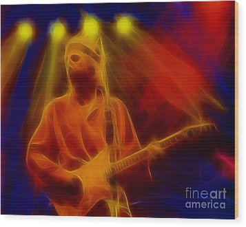 Dire Straits-4-fractal Wood Print by Gary Gingrich Galleries