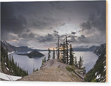 Discovery Point At Dawn Wood Print by Greg Nyquist