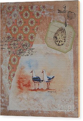Discovery  Wood Print by Tamyra Crossley