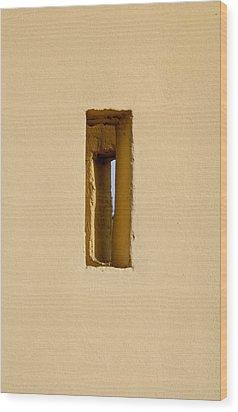 Discretion Wood Print