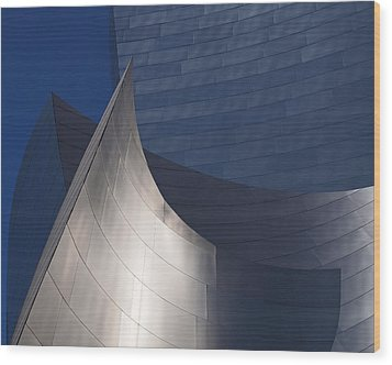 Disney Hall Abstract Wood Print