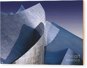 Disney Hall La Wood Print