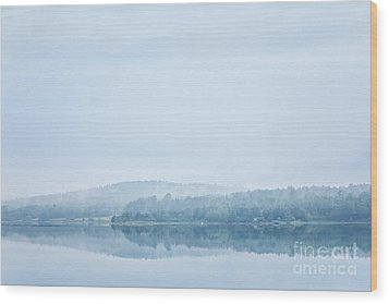 Distant Shore Wood Print by Susan Cole Kelly Impressions