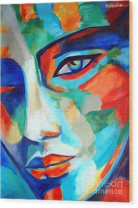 Divine Consciousness Wood Print