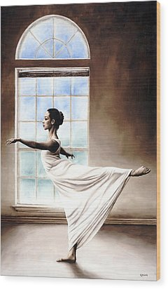 Divine Grace Wood Print by Richard Young