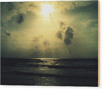 Wood Print featuring the photograph Divine Light by Salman Ravish