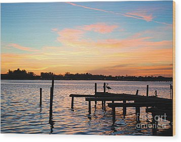 Wood Print featuring the photograph Dock On The Bay by Margie Amberge