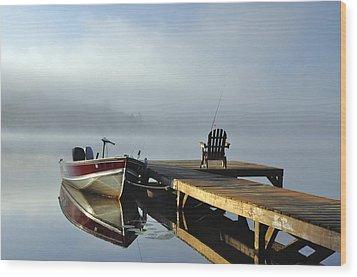 Docktari Wood Print by RJ Martens
