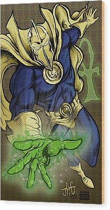 Doctor Fate Wood Print