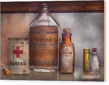 Doctor - Pharmacueticals  Wood Print by Mike Savad