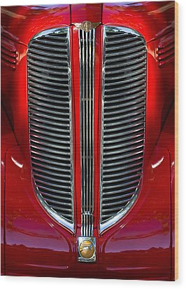 Dodge Brothers Grille Wood Print by Jill Reger