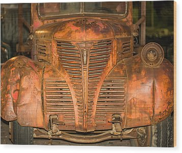 Dodge Fargo Wood Print