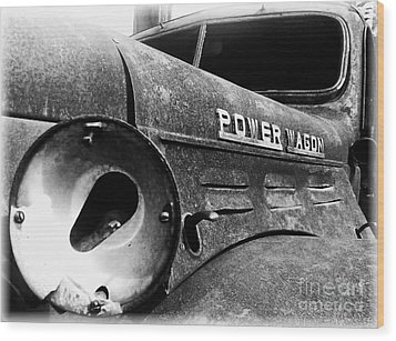 Dodge - Power Wagon 1 Wood Print by James Aiken