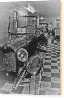 Dodge Touring Wood Print by Larry Bishop
