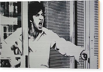 Dog Day Afternoon Wood Print by Luis Ludzska