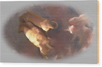 Doggie Brotherhood Wood Print by Usha Shantharam