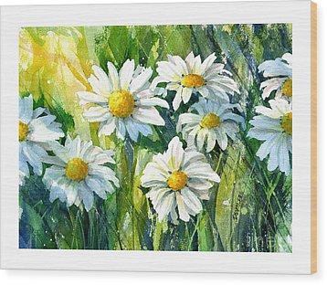 Doin' Daisys Wood Print