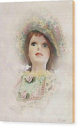 Doll 624-12-13 Marucii Wood Print by Marek Lutek