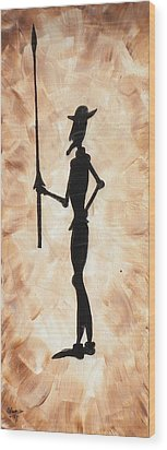 Don Quijote Wood Print