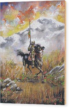 Don Quixote Of La Mancha Wood Print