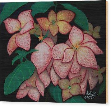 Dona Aurora2 Wood Print by Charito ChatRose Mahilum