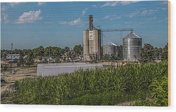 Wood Print featuring the photograph Donahue Iowa by Ray Congrove