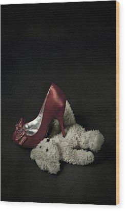 Don't Step On Me Wood Print by Joana Kruse