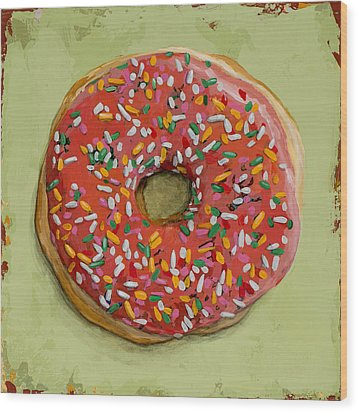 Donut #1 Wood Print by David Palmer