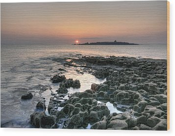 Doolin Sunset Wood Print by John Quinn