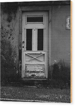 Door-8 Wood Print