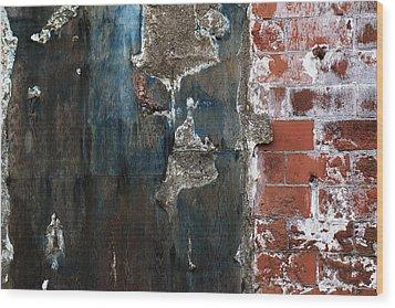 Door Wood Print by Anna Lozyk Romeo