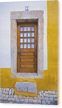 Door Number Two Wood Print by David Letts