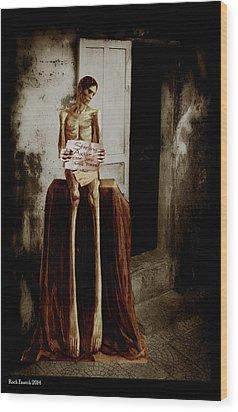 Door Prize Wood Print by Roch  Fautch