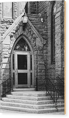 Door To Sanctuary Series Image 3 Of 4 Wood Print by Lawrence Burry