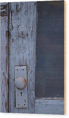 Door To The Past Wood Print by Randy Pollard