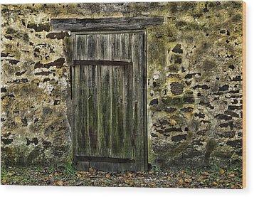 Door To Yesterday Wood Print