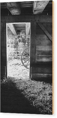Doorway Through Time Wood Print by Daniel Thompson