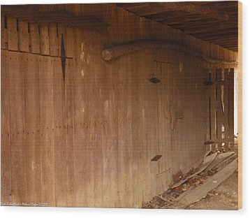 Wood Print featuring the photograph Doors To The Past by Nick Kirby